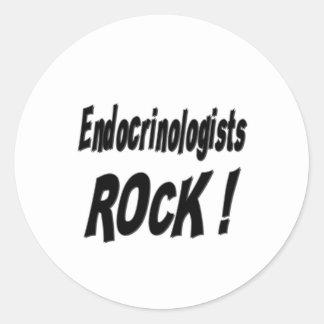Endocrinologists Rock! Sticker