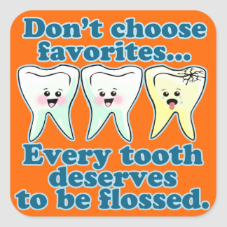 Endodontics Endodontry del Endodontist Pegatina Cuadrada