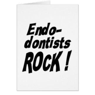 Endodontists Rock! Greeting Card