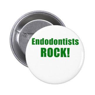 Endodontists Rock Pinback Button