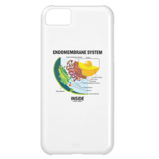 Endomembrane System Inside (Cell Biology) Cover For iPhone 5C