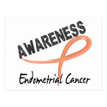 Endometrial Cancer Awareness 3 Postcard