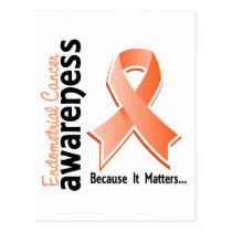 Endometrial Cancer Awareness 5 Postcard