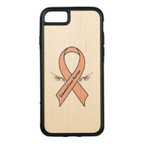 Endometrial Cancer Awareness Carved iPhone 8/7 Case