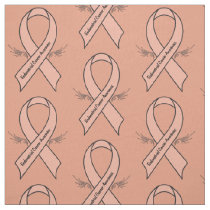 Endometrial Cancer Awareness Fabric