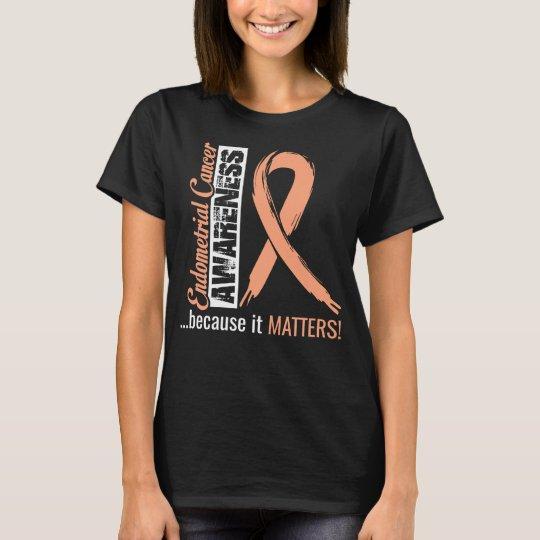 Endometrial Cancer Awareness T-Shirt