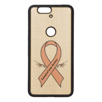 Endometrial Cancer Awareness Wood Nexus 6P Case