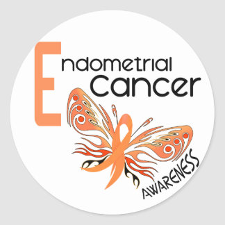 Endometrial Cancer BUTTERFLY 3.1 Stickers