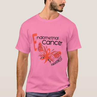 Endometrial Cancer BUTTERFLY 3.1 T-Shirt