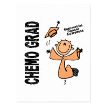 Endometrial Cancer CHEMO GRAD 1 Postcard