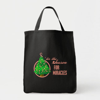 Endometrial Cancer Christmas Miracles Tote Bag