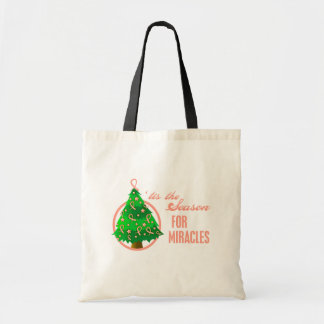 Endometrial Cancer Christmas Miracles Canvas Bag