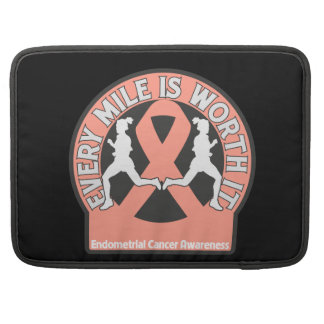 Endometrial Cancer Every Mile Is Worth It Sleeve For MacBooks