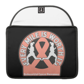 Endometrial Cancer Every Mile Is Worth It Sleeves For MacBook Pro