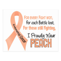 Endometrial Cancer For Every…..I Proudly Wear Peac Postcard