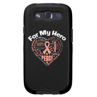 Endometrial Cancer For My Hero Galaxy SIII Case