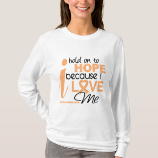 Endometrial Cancer Hold On To Hope For ME T-Shirt