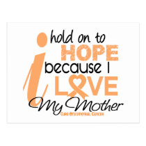 Endometrial Cancer Hold On To Hope For My Mother Postcard