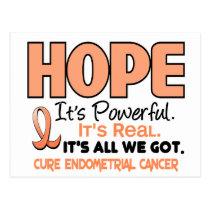 Endometrial Cancer HOPE 1 Postcard
