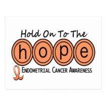 Endometrial Cancer HOPE 6 Postcard