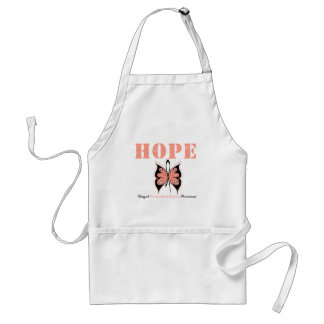 Endometrial Cancer Hope Butterfly Apron