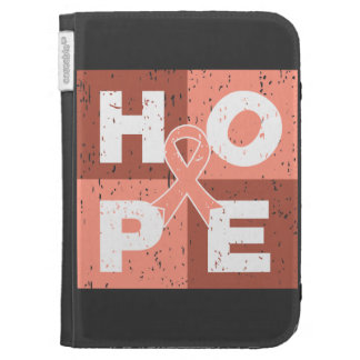 Endometrial Cancer HOPE Cube Cases For The Kindle