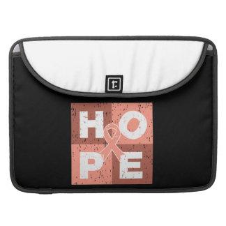 Endometrial Cancer HOPE Cube Sleeve For MacBook Pro