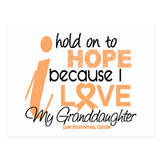 Endometrial Cancer Hope For My Granddaughter Postcard