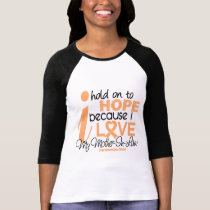 Endometrial Cancer Hope For My Mother-In-Law T-Shirt