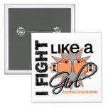 Endometrial Cancer I Fight Like A Girl 13.1 Pin