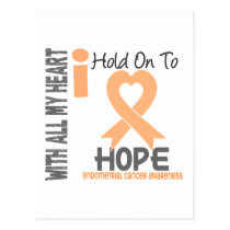 Endometrial Cancer I Hold On To Hope Postcard