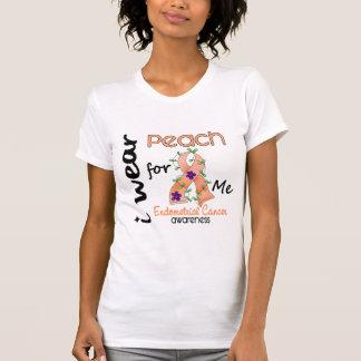 Endometrial Cancer I Wear Peach For Me 43 T-Shirt
