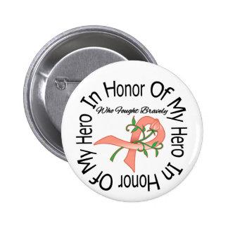 Endometrial Cancer In Honor Of My Hero Pins