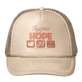 Endometrial Cancer Inspire Hope Mesh Hat