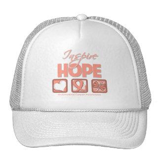 Endometrial Cancer Inspire Hope Trucker Hat