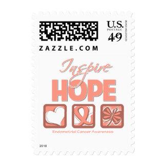 Endometrial Cancer Inspire Hope Stamp