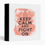 Endometrial Cancer Keep Calm and Fight On Binders