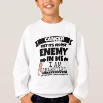 Endometrial Cancer Met Its Worst Enemy in Me Sweatshirt