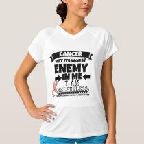 Endometrial Cancer Met Its Worst Enemy in Me T-Shirt