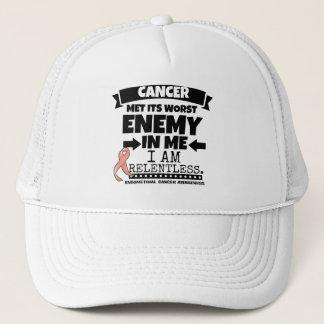 Endometrial Cancer Met Its Worst Enemy in Me Trucker Hat