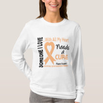 Endometrial Cancer Needs A Cure 3 T-Shirt