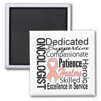 Endometrial Cancer Oncologist Collage Magnet