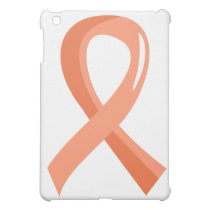 Endometrial Cancer Peach Ribbon 3 Cover For The iPad Mini