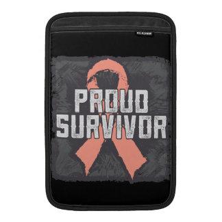 Endometrial Cancer Proud Survivor MacBook Sleeves