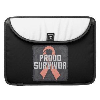 Endometrial Cancer Proud Survivor MacBook Pro Sleeves