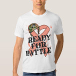 Endometrial Cancer Ready For Battle Tee Shirts