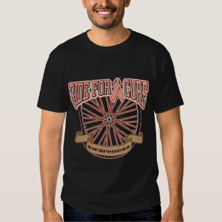 Endometrial Cancer Ride For Cure Tee Shirt