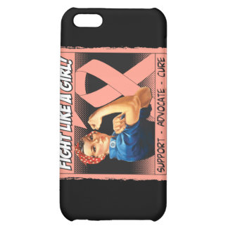 Endometrial Cancer Rosie Riveter Fight Like A Girl Cover For iPhone 5C