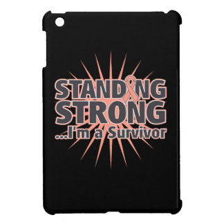 Endometrial Cancer Standing Strong iPad Mini Cases