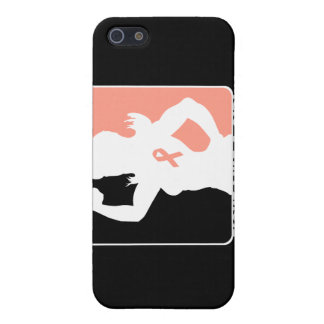 Endometrial Cancer Strength Fight Like A Girl iPhone 5 Cases